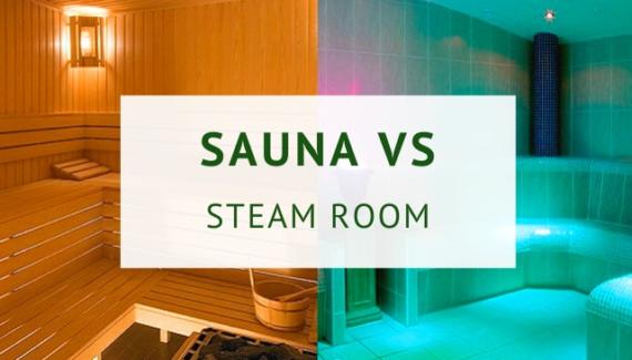 steam shower vs sauna