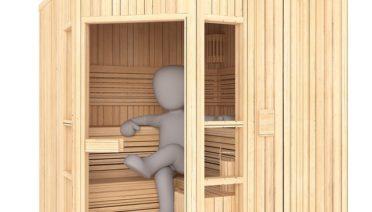 best 1 person sauna